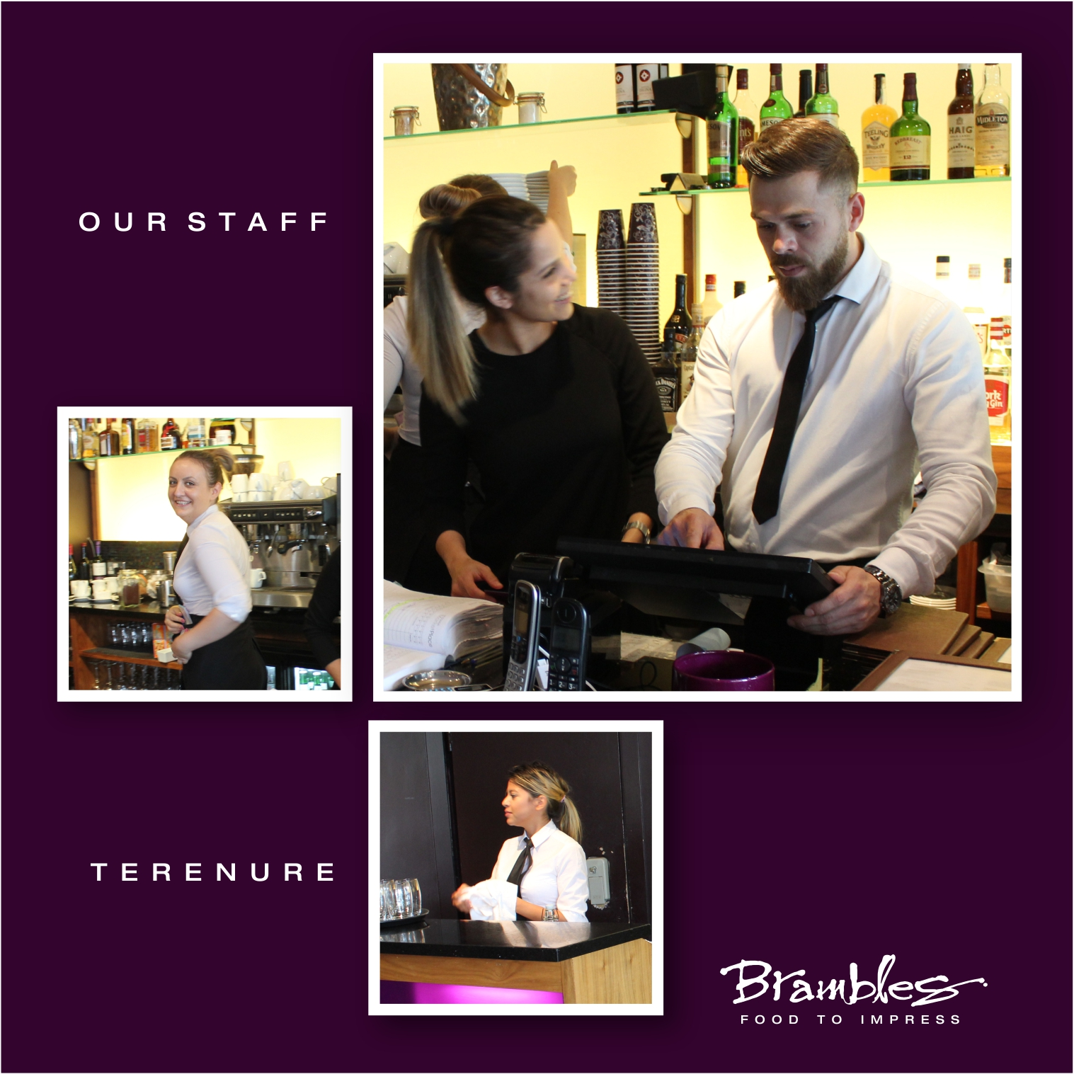 Friendly & welcoming staff for customers